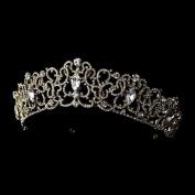 Anastasia Majestic Gold Crystal Tiara Headpiece