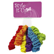 Style It Up Bright Colour Ponytailers