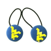 NCAA West Virginia Mountaineers Ladies Hair Ponytail Holder