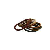 Ricky's Non Metal Elastics 2Mm Brown-L,