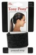 Mia Beauty Tony Pony Wrap, Black Fur, 0ml