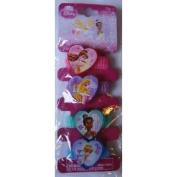 Disney Princess Pony Tail Holders 4 Pcs