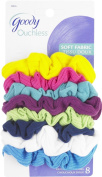 Goody Ouchless Scrunchie Jersey, Variety, 8 Count