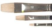Jacksons Brush : Chungking Studio LONG FLAT Series 315A : Size 4
