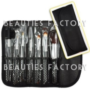 Pure Black - Makeup Brush x 7pcs CODE