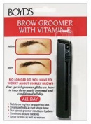 Boyd's Eye Brow Groomer with Vitamin E - Conditions & Tames Unruly Brows