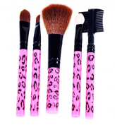 Lady De 5 Pcs Professional Quality Make Up Brush Set