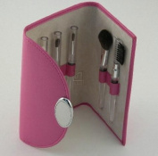 HOT PINK MAKE-UP BRUSHES, SET/5,