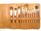 Professional 12pc Synthetic Makeup Brush Set Vegan Approved