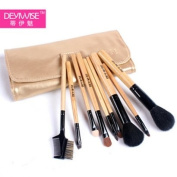 Beauty Essential Kit - Luxury Comprehensive 9-pc Antibacterial Professional Cosmetic Makeup Brush Set - Studio Line Brushes Made of Natural Bristles. Factory Direct,OEM For Japan Department Stores.Why Pay More For The Same Brush Set. This Brand New Make U