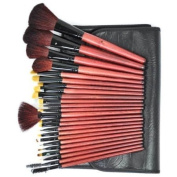 Pure Black - Makeup Brushes x 24 pcs CODE