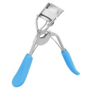 Rosallini Ladies Blue Handle Eyelash Curler Cosmetic Beauty Tool
