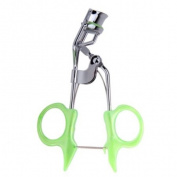 Stainless Steel Eyelash Curler Clip Makeup Beauty Tool C67--Green