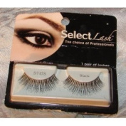 Select Lash - The Choice of Professionals - 1 Pair of Black False Eye Lashes