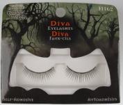 Fantasy Makers Eyelashes Wet N Wild Diva Eye Lashes with Rhinestones - 11162