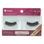 Sassi False Eyelashes 100% Human Hair, Free Glue-#79