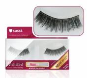 [Sassi] Maiasa Eyelashes 100% Remy Human Hair with Free Glue #5