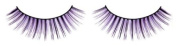 Black - Lilac Deluxe Eyelashes nr.500 Including free adhesive