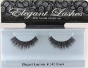 Elegant Lashes #045 Black False Eyelashes
