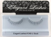 Elegant Lashes #049 Black Under False Eyelashes for Bottom/Lower Lashes