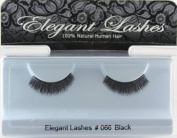 da11c1838d5 Elegant Lashes #066 Black Short Natural Thick False Eyelashes
