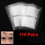 110 Pairs Breathable Invisible Dual Eyelid Sticker Tape
