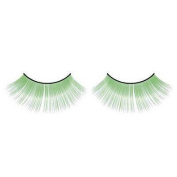Long Green false eyelashes nr.522 Including FREE adhesive