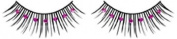 Purple Diamante False Eyelashes 01