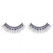 Blue Diamante False Eyelashes 01