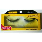 Glam i Remy Hair 100% Human Hair Eyelashes (Pack of 3)- Glam 1