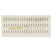 Amazing Shine Individual False Eyelashes - Flare Short Black