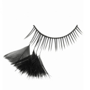 X-Gen Glamour Lashes Black Feather Lashes Deco Mania