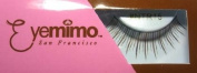 Eyemimo Natural-looking False Eyelashes in Hard-to-find Brown with Travelling Pouch and Semi Permanent Glue Included