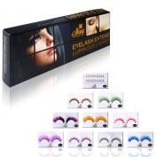Shany Cosmetics Eyelash Extend Assorted Reusable Eyelashes Colour Frenzy