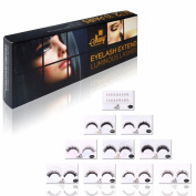 SHANY Cosmetics Eyelash Extend Assorted Reusable Eyelashes Thick and Dramatic, 110ml
