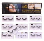 SHANY Cosmetics Eyelash Extend Assorted Reusable Eyelashes Thin Collection, 110ml