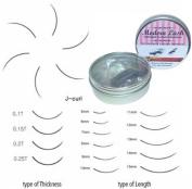 Modern Lash EyeLash Extensions J - Curl Lashes .15mm Thick 10mm Long 0.5 gramme