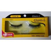 Glam i Remy Hair 100% Human Hair Eyelashes (Pack of 6)- Glam 15