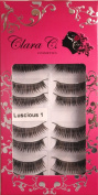 Professional False Eyelashes (10 Pairs) Luscious Beauty 1