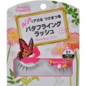 CEZANNE Sweets Sweets | Eyelash | Butterflying Lash BL01 Black x Brown