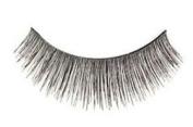 "Cala 2x (4 Total!) 100% Human Hair Eyelashes Blister Pack â..Blackâ.. (No. 31066) + Brush-On Adhesive -5g- ""Dark"" (32004) + A-viva Eco Nail File"