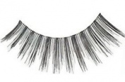 "Cala 2x (4 Total!) 100% Human Hair Eyelashes Blister Pack â..Blackâ.. (No. 31113) + Brush-On Adhesive -5g- ""Dark"" (32004) + A-viva Eco Nail File"