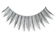 "Cala 2x (4 Total!) 100% Human Hair Eyelashes Blister Pack â..Blackâ.. (No. 31505) + Brush-On Adhesive -5g- ""Dark"" (32004) + A-viva Eco Nail File"