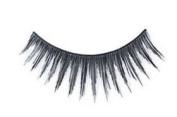 "Cala 2x (4 Total!) 100% Human Hair Eyelashes Blister Pack â..Midnight Blackâ.. (No. 31015) + Brush-On Adhesive -5g- ""Dark"" (32004) + A-viva Eco Nail File"