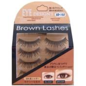 ANNEX JAPAN ANNEX   Eyelash   Eye Design's Brown Lash Shaggy Brown 4-Pack ED-102