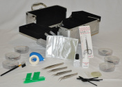 Professional Eyelash Extensions Training Kit with Professional Beauty Case
