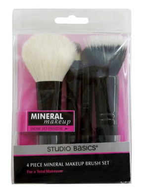 Studio Basics Mineral Makeup Brush Set