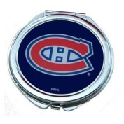 Montreal Canadiens Ladies Compact Mirror w/ Floral Design