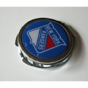 New York Rangers Ladies Compact Mirror w/ Floral Design