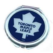 Toronto Maple Leafs Ladies Compact Mirror w/ Floral Design